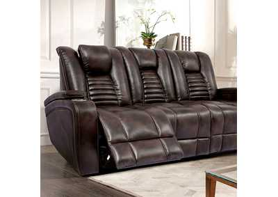 Image for Abrielle Dark Brown Power Sofa