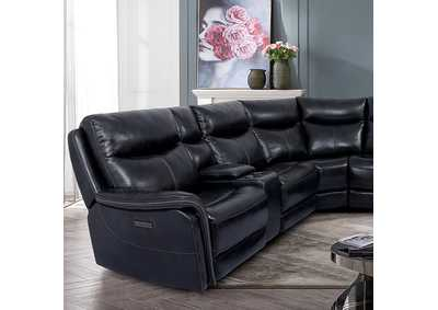 Image for Braylee Dark Navy Power Sectional