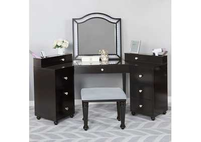 Image for Tracie Obsidian Gray Vanity Set