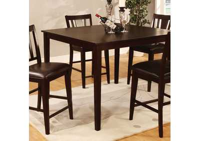 Image for Bridgette Espresso 5 Piece Counter Height Table Set
