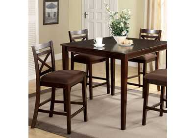 Image for Weston l 5 Piece Counter Table Set