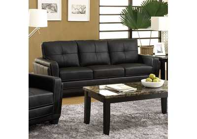 Image for Blacksburg Black Sofa