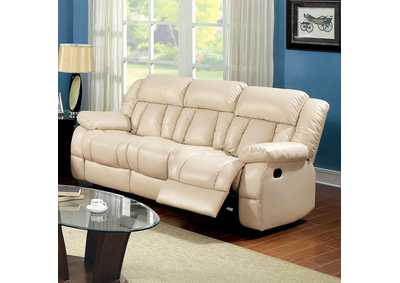 Image for Barbado Ivory Sofa w/2 Recliners