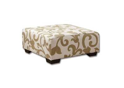 Image for Cranbrook Beige Ottoman
