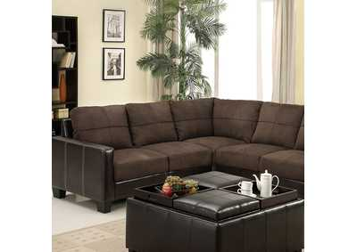 Image for Lavena Chocolate Sectional
