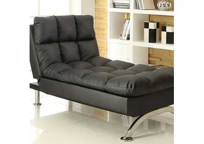 Image for Aristo Black Chaise
