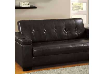 Image for Logan Espresso Futon Sofa