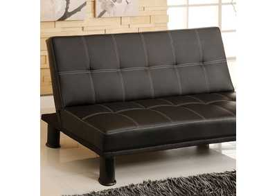 Image for Quinn Black Futon Sofa