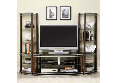 Silver Creek Brown TV Console