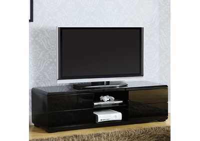 "Image for Cerro 59"" Black Lacquer TV Console"