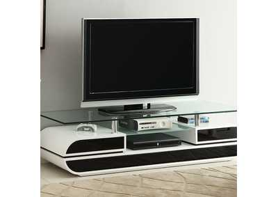 Image for Evos Black TV Console