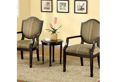 Bernetta Tan Set of Table & Accent Chairs