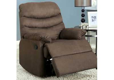 Image for Plesant Valley Light Brown Recliner
