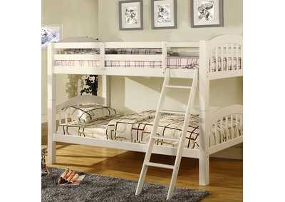 Image for Coney Island White Bunk Bed