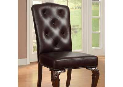 Image for Bellagio Leatherette Side Chair (Set of 2)