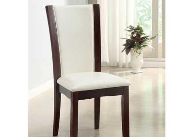 Image for Manhattan l White Side Chair (Set of 2)