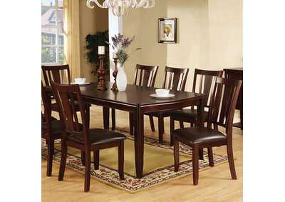 "Image for Edgewood l Espresso Dining Table w/18"" Leaf"