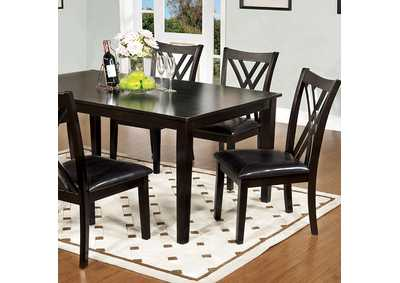 Image for Springhill Espresso 7 Piece Dining Set