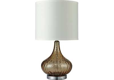 Image for Donna Amber Table Lamp