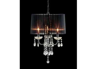 Jada Chrome Ceiling Lamp