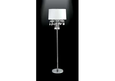 Jada Chrome Floor Lamp