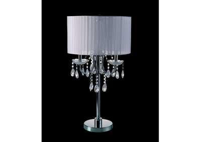 Jada Chrome Table Lamp