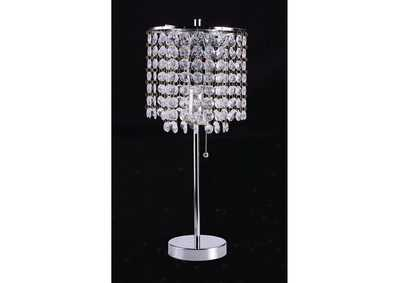 Image for Perla Faux Crystal Table Lamp