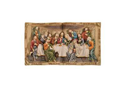 Homili Multicolor Last Supper Plaque