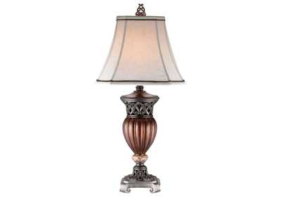 Luna Brown Table Lamp [Set of 2]