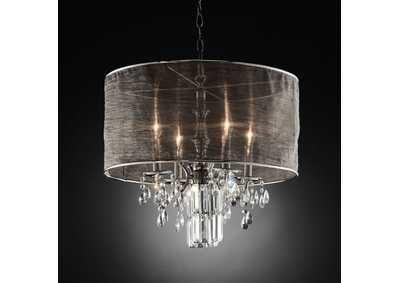 Gina Chrome Ceiling Lamp