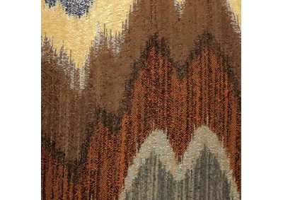 Image for Seismy Blue & Brown Pattern Pillow, 18 x 18' (Set of 2)