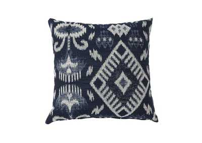 Zena Navy Small Throw Pillow (Set of 2)
