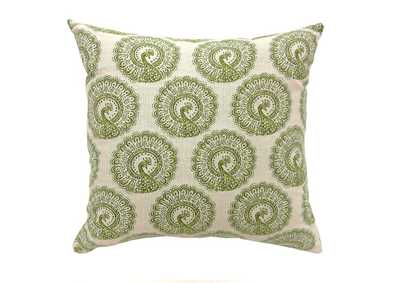 "Image for Fifi 18"" X 18"" Pillow, Green (Set of 2)"
