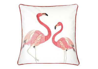Lina Ivory Accent Pillow