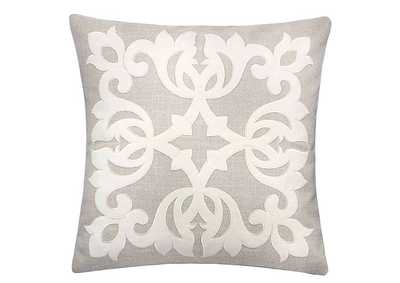 Trudy Beige Accent Pillow