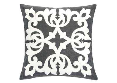 Trudy Dark Gray Accent Pillow (Set of 2)