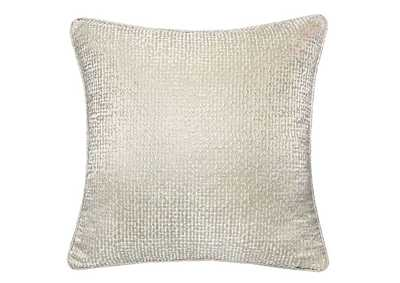 Leyla Silver Accent Pillow