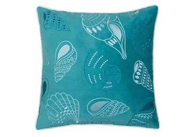 Sally Teal Accent Pillow
