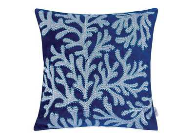 Dolly Blue Accent Pillow