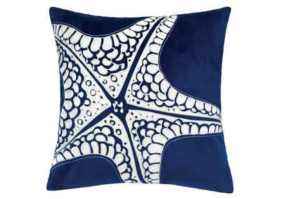 Jude White Accent Pillow