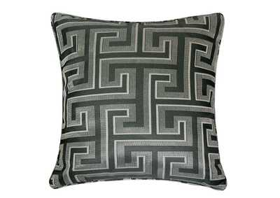 Macie Silver Accent Pillow
