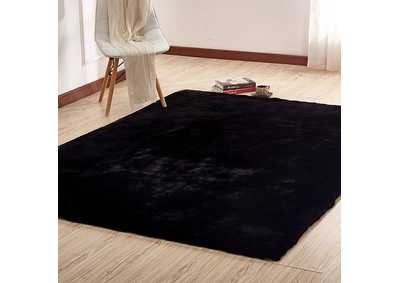 Caparica Black Area Rug