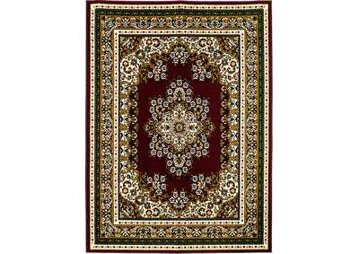 Image for Shinta 5' X 8' Burgundy Area Rug