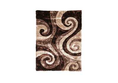 Fermont Brown Beige Area Rug