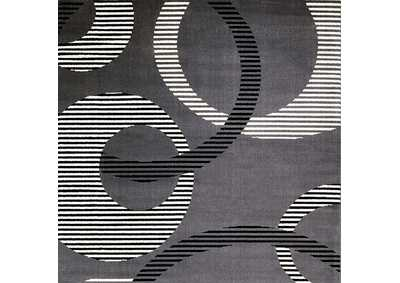 Blitar Dark Gray Area Rug