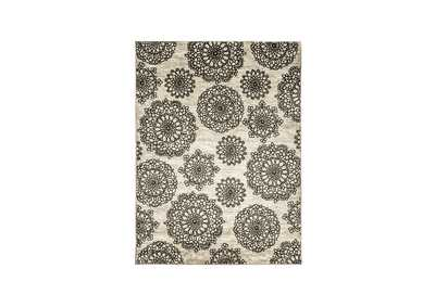 Acanthus Dark Gray Area Rug