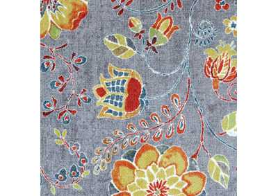 Greenville Floral Multicolor Area Rug