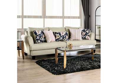 Denbigh Beige Sofa,Furniture of America