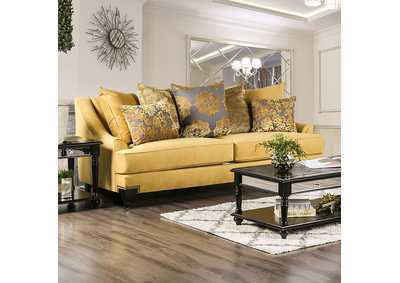 Image for Viscontti Gold Sofa