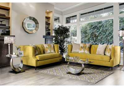 Image for Tegan Royal Yellow Sofa